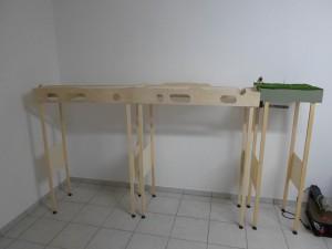 Die Holzarbeiten schreiten zügig voran! Hier genau zu arbeiten, macht sich später bezahlt!
